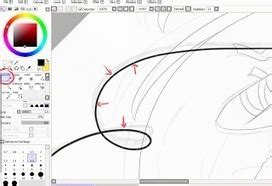 paint tool sai vector layer tutorial vector drawing in drawing and painting tutorials