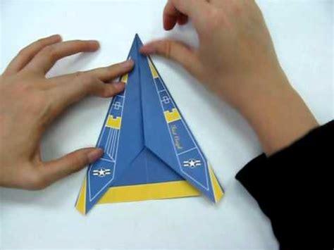 origami f 18 how to make origami plane f18 avi doovi