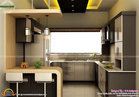 modular kitchen interior modular kitchen dining and bedroom interior kerala home