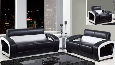 black and white chairs living room global furniture black and white leather modern sofa