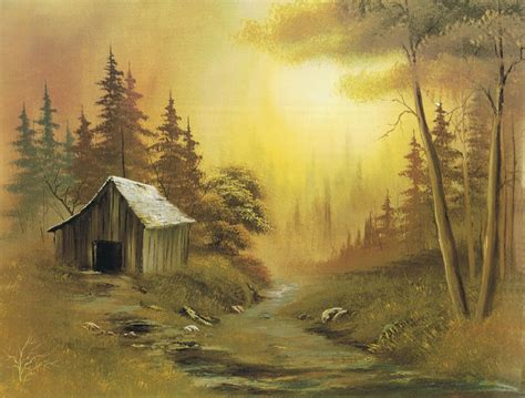 bob ross painting cabin bob ross paintings landscapes