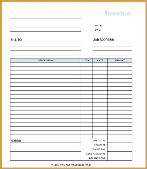pdf in with pictures free invoice template pdf free free to do list