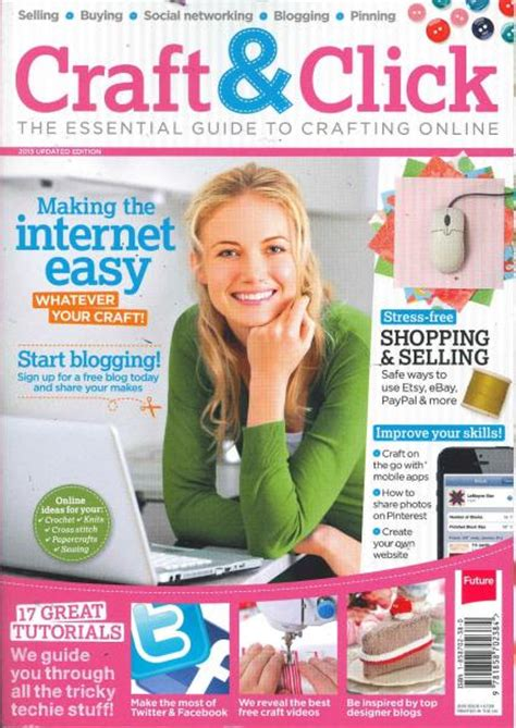 craft magazine craft click magazine subscription