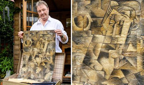 picasso paintings found a found an painting in his suitcase which may be a