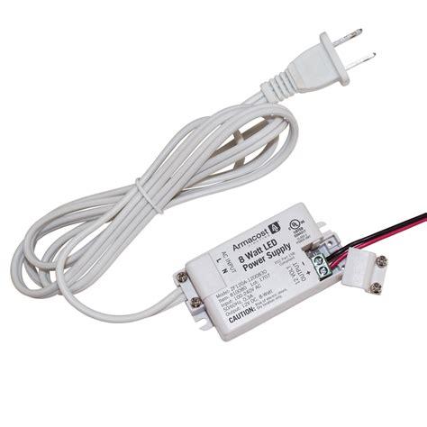 led lighting power supply 8 watt standard 12 volt dc led power supply armacost