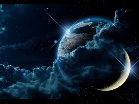 Car Wallpaper With Android Moon by Beautiful Two Moons Pics About Space