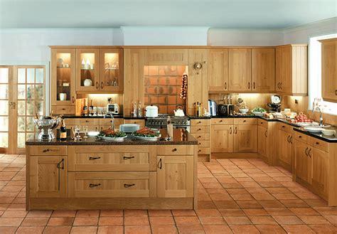 oak kitchen designs shaker winchester oak kitchen supply only traditional