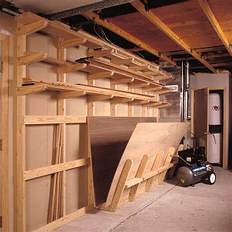 woodworking storage ideas 25 best ideas about lumber storage on lumber