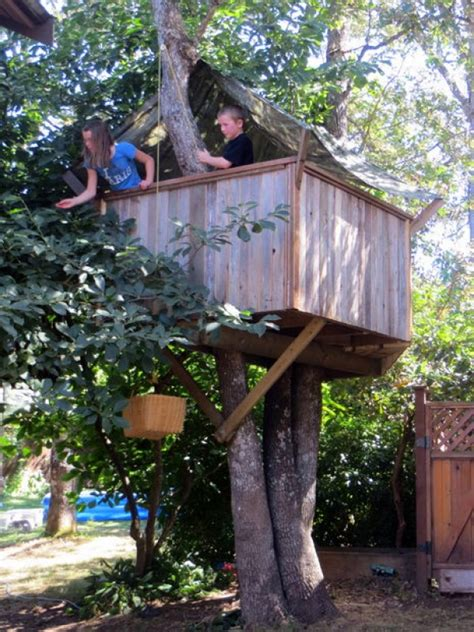 treehouse kid and craft build a tree house creative child