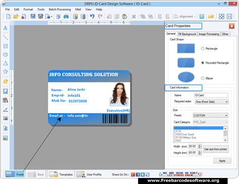 i card software id card maker software generates students faculty etc