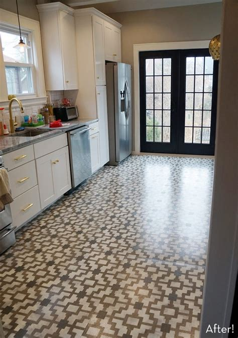 painted kitchen floor ideas 6 diy kitchen floors updates and renovations to try shelterness