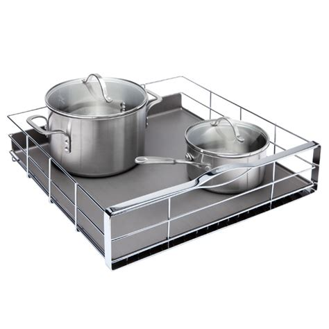 pull out kitchen cabinet organizers simplehuman 174 20 quot pull out cabinet organizer the