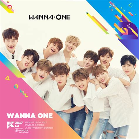 wanna one kcon17la wanna one playlist kcon usa official site