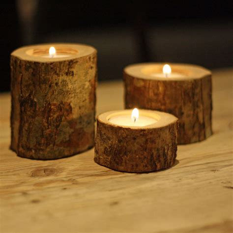 tea tree light holders wedding welcome table ideas styling