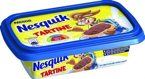 nesquik se diversifie sur les beurres 224 tartiner biscuiterie confiserie petit d 233 jeuner