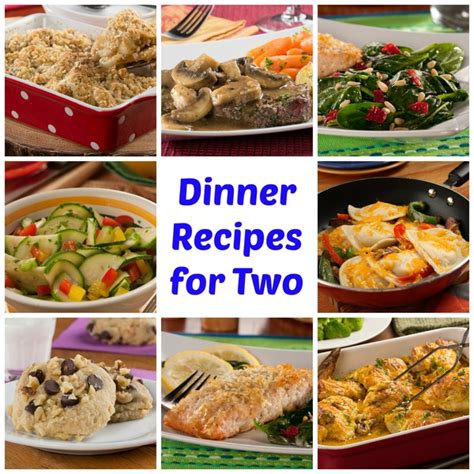 dinner for 50 easy dinner recipes for two mrfood