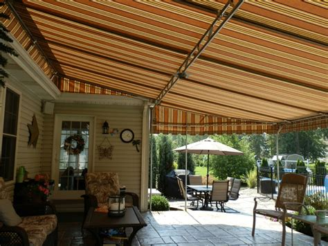 awning patio covers residential patio awnings custom covers and canvas