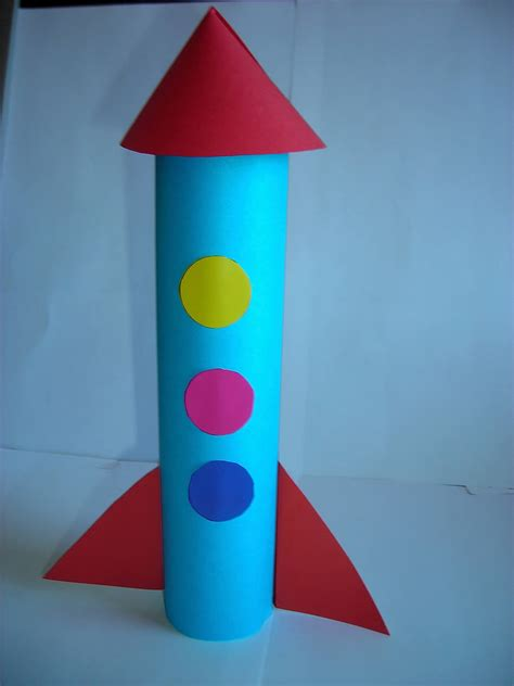 rocket craft for toilet paper roll rocket craft busy
