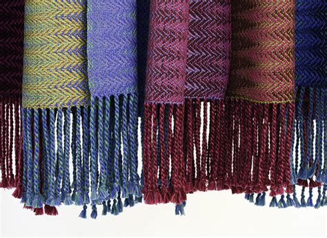 how to finish a knitted scarf how to finish a handwoven scarf with a twisted fringe