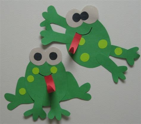 frog craft project creative teaching frog glyph