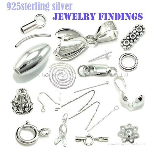 sterling silver findings for jewelry 925 sterling silver jewelry findings and components hw