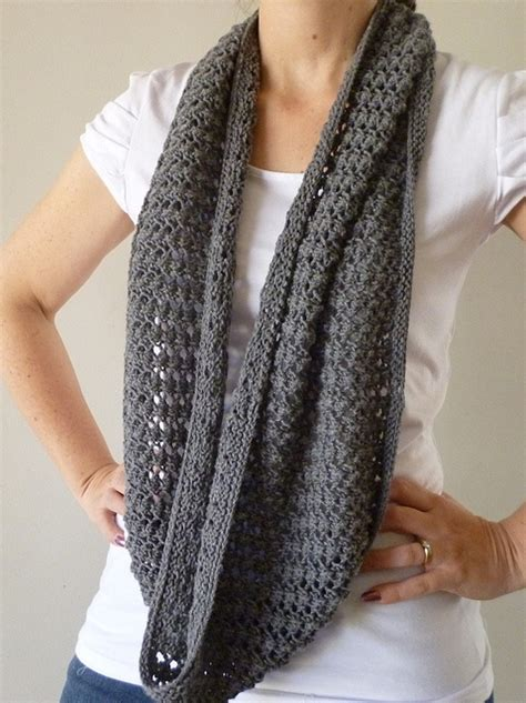 Easy Lace Cowl By Randomknits Knit Soon