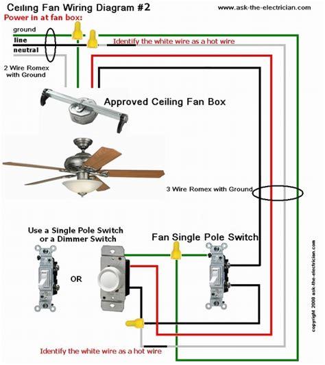 ceiling fan wiring with light ceiling fan wiring