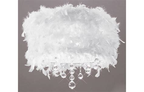 white feather lights white feather flush ceiling light with droplets