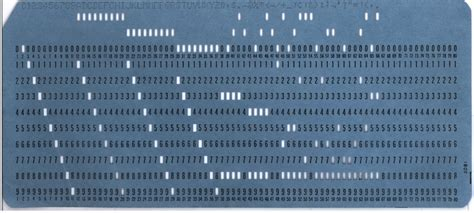 What Is A Punch Card F F Info 2017
