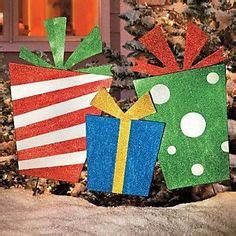 outdoor present decorations outdoor presents gifts yard display