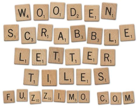scrabble letter pictures with treasure trove tuesday