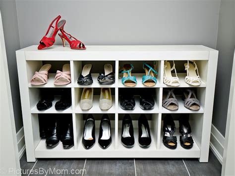 ikea hack how to build a shoe rack from an ikea expedit