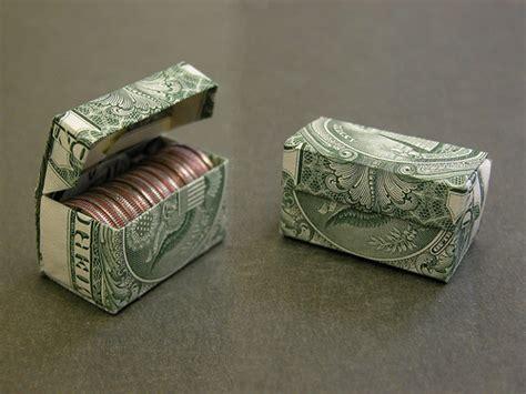 origami money box paper gift 48 photos dollar bill dime box 436