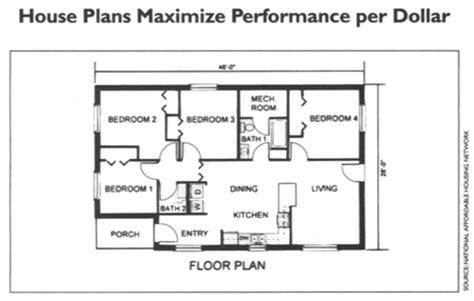 habitat for humanity house floor plans home energy magazine single family house plans