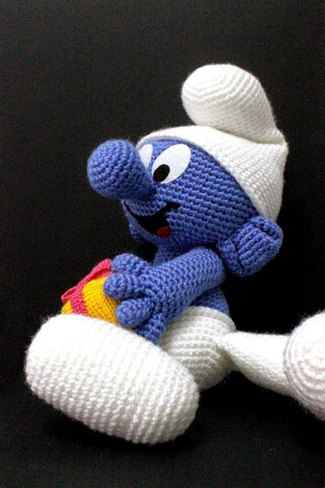 smurf knitting pattern 1000 images about puffi on