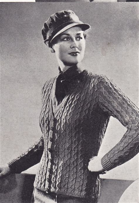 vintage knits vintage knitted world war 2 knitting patterns available