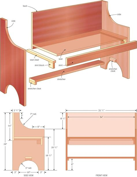 church pew woodworking plans 25 best ideas about bench on desk