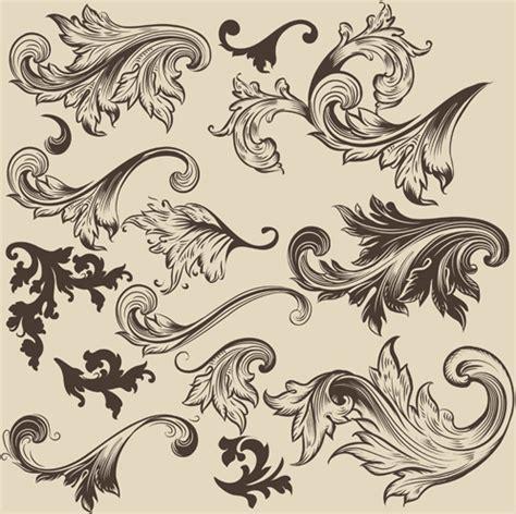 design a ornament floral swirl ornament design vector free vector in adobe