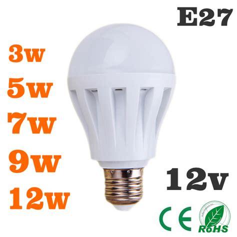 12 volts led light bulbs 1 pe 231 a levou l 226 mpadas 3w5w7w9w12w l 226 mpada led dc 12 v e27