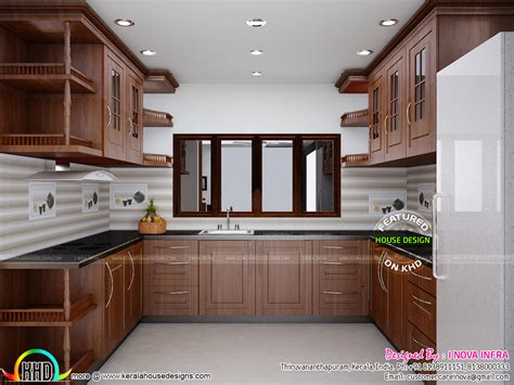 house interior design kitchen february 2016 kerala home design and floor plans