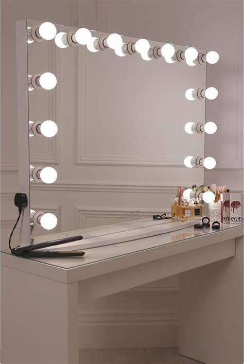 desk with light best 25 vanity desk with mirror ideas on