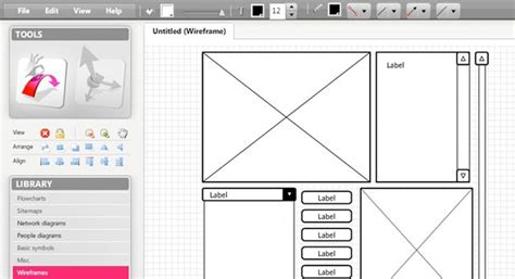 best online wireframe tool 10 free wireframing tools for designers