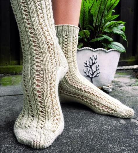 knit up lace sock patterns for summer knitting