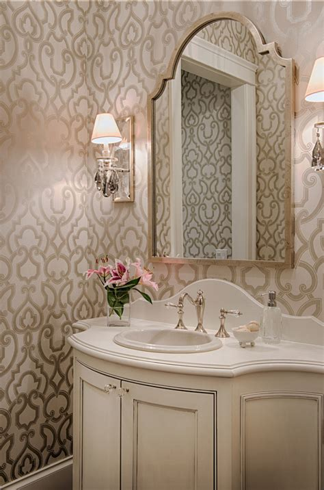wallpaper for powder room family home with neutral interiors home bunch