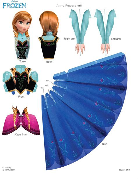 free printable 3d paper crafts frozen free printable 3d paper dolls is it for