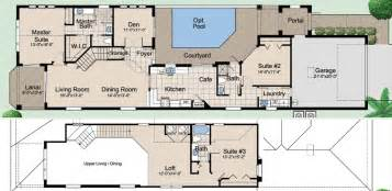 courtyard floor plans mediterranean ranch house plans with courtyard house