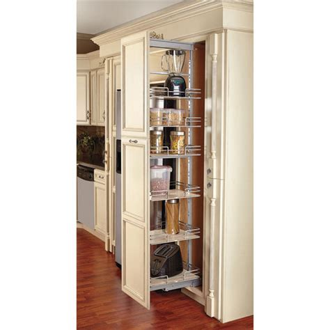 pull out cabinets kitchen pantry rev a shelf pull out pantry with maple shelves for