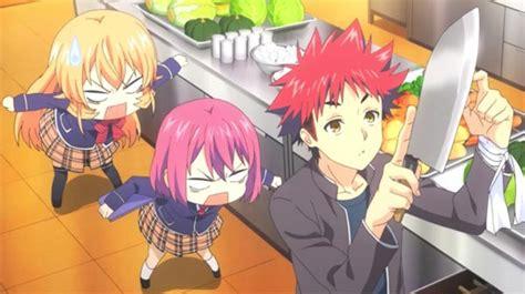 food wars anime review shokugeki no soma deliciously
