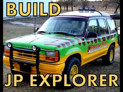 Parks Ford by Jurassic Park Ford Explorer With Glass Roof And Interior