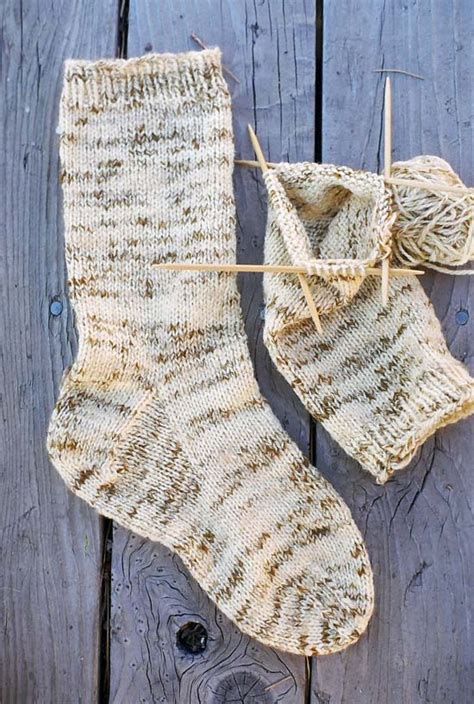 knitting pattern for boot socks 998 s heavy weight boot sock knitting and simple